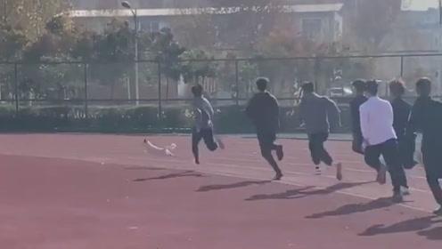 校园流浪狗跑步得冠军 所以干掉你的不一定是同行