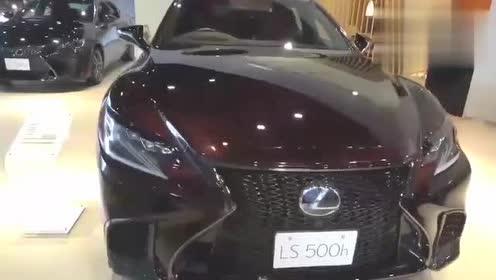 2019款雷克萨斯LS500H,超漂亮的豪华轿跑。