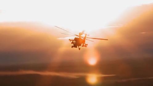 俄军一架米28武装直升机夜间坠毁 俩飞行员死亡 事故原因曝光!