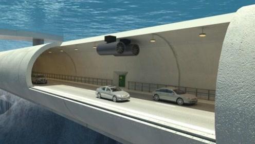港珠澳大桥6700米长的海底隧道,漏水怎么逃生?看完给中国设计者点赞!