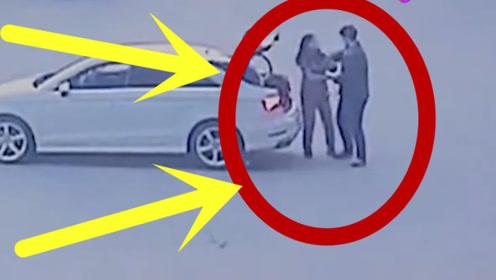 加油站内发生口角,后车下来武林高手,结果双双被拘留!