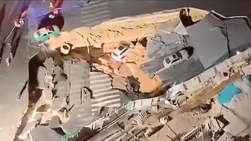 厦门吕厝附近发生地面陷落 经反复排查无人员被困