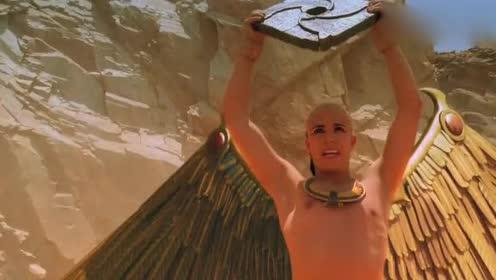 恶魔重现人间!埃及法老获得神灵的力量长出翅膀!大战恶魔