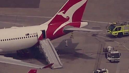 澳大利亚一客机起飞后突发故障被迫返航 乘客:机舱内充满烟雾