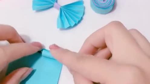 超级可爱的蝴蝶结签名笔!只需彩色纸!轻轻松松搞定