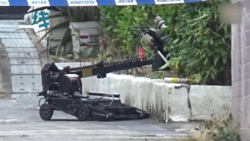 丧心病狂!香港行人路惊现怀疑爆炸品 军火专家到场引爆