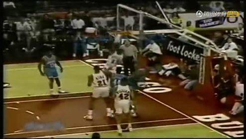 坎普死亡隔扣领衔!90年代NBA伟大瞬间全收录
