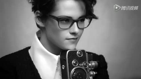 暮光女斯图尔特帅气搭配出镜成为Chanel专属摄影师