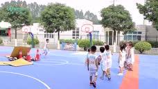华蒙星体育学院幼儿篮球中班教案《大灰狼和小白兔》