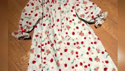 孙俪超节俭!一块布料闲置多年未扔给小花做成睡衣
