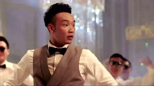 太用心,新郎大跳Bigbang舞蹈,引台下尖叫!