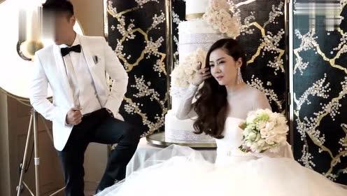 名模熊黛林与郭可颂拍摄婚纱照花絮,甜蜜度爆棚,简直太般配了!