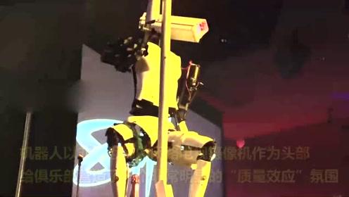 机器人舞娘亮相 别样性感引人注目