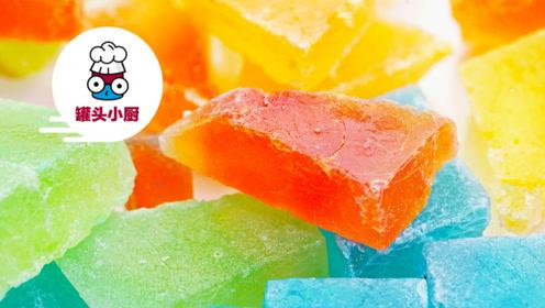 这款宝石琥珀糖,颜值上就秒杀市面上的糖果!做法还简单