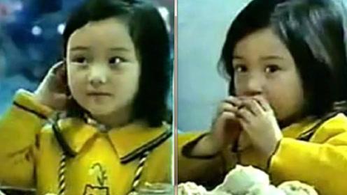 李小璐5岁时上镜就这么美 难怪从小就被兵哥哥追呢