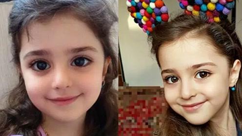 六岁女孩颜值逆天 网友称上辈子拯救地球