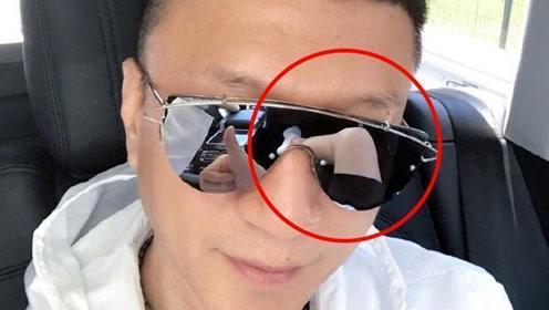 孙红雷微博晒自拍 眼镜里的东西更有料啊!