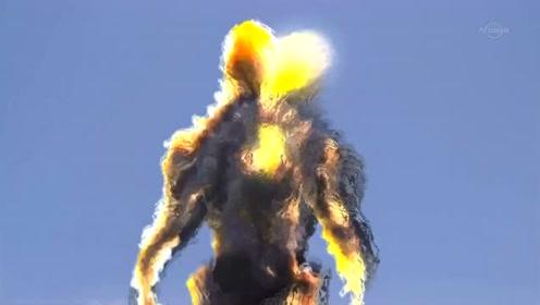 艾克斯奥特曼被击倒,超级怪兽的力量无法想像