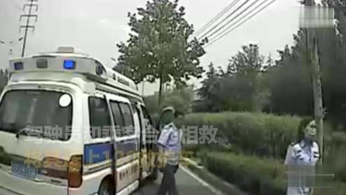 公交车秒变救护车 为老人生命抢回时间