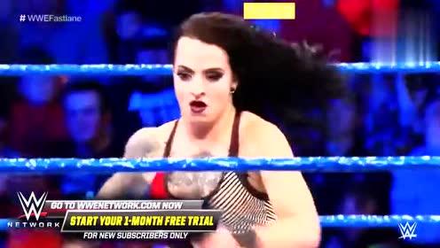 WWE夏洛特被终极大招KO,女王的位置不好坐!