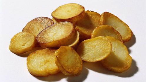 土豆新吃法,这么做的土豆金黄酥脆,百吃不厌!