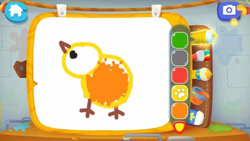 萌萌哒小鸡,这样画更简单,幼儿简笔画早教