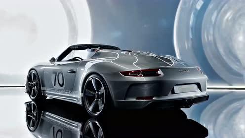 70周年大作!保时捷 911 speedster 概念跑车