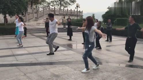 8步《女人没有错》鬼步舞教学视频正背面演示及口令不会的快学