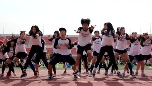 现在运动会这么六,艺术高中班级精彩舞蹈表演!