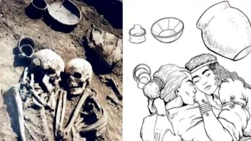 永恒的拥抱!女子自愿被活埋 坟墓中拥抱丈夫沉睡3000年