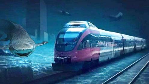 中国逆天工程,海底高铁时速1000公里,大连到烟台只要12分钟!