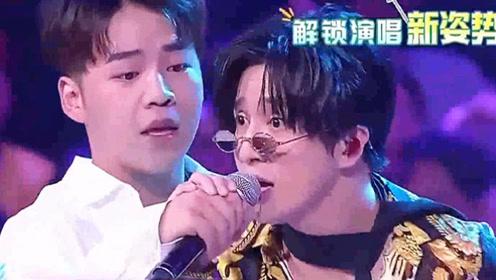 薛之谦用这种姿势和选手唱歌,小伙儿脸都红了,完全招架不住