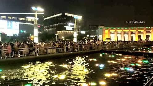 国庆节徐州美丽音乐喷泉,让人震撼