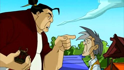 龙叔小玉从山上掉了下来,不会被摔死吧,好高哦!