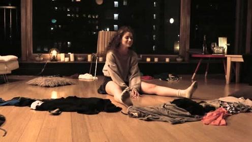 长腿美女Dytto 从少女到成人的烦恼 在家耍性子即兴 Solo舞蹈