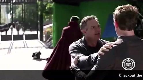 复仇者联盟3 片段释出 片场扭腰摆臀超欢乐啊!