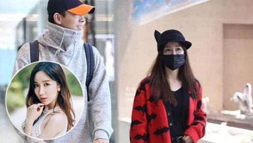 娄艺潇和男友现身机场,惊现最萌身高差,娄艺潇168看成158