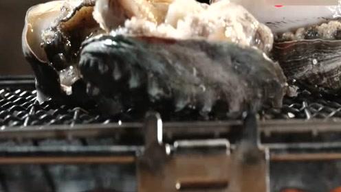 生猛海鲜在线生烤!每一个广东人都是地道的美食家!
