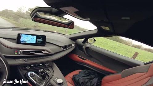 第一视角 宝马 i8 跑车 374马力 测试 试驾