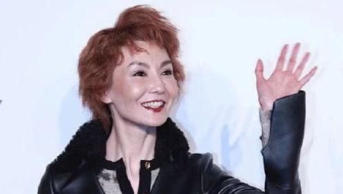 54岁张曼玉罕见现身活动,皮肤紧致状态不错,但脸好像变了不少
