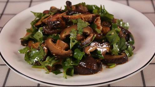 香菇别做老一套了,试试这个新鲜做法,营养美味,比吃肉都香