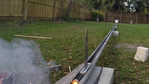 1000度高温刀片加上火箭发动机!破坏力有多强?结果限制了我的想象