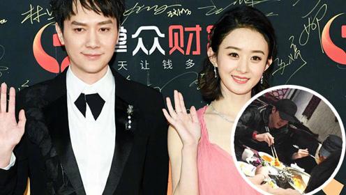赵丽颖冯绍峰婚后外出吃火锅 还和朱一龙去的同家店?