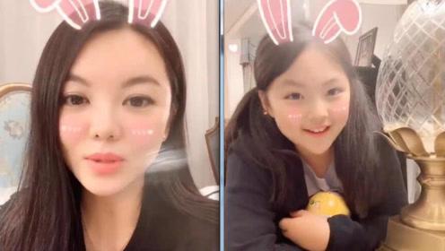 李湘公开带娃短视频自诩美少女主妇 王诗龄惊喜出镜