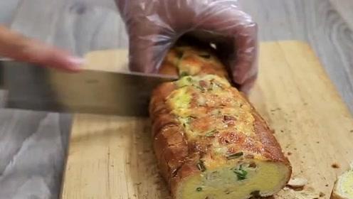 鸡蛋奶酪烤面包,美味面包,早餐的明智之选