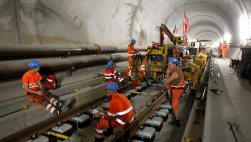 最让人无语的施工队,57公里隧道挖17年