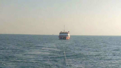 浙江渔民在东海发现无人豪华游轮,还捡到一张名片,但是电话打不通