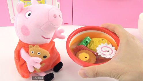 《橙子乐园在日本》小猪佩奇太饿了,动手做拉面给佩奇吧
