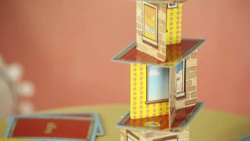 《猫扎特玩具》超级犀牛叠叠乐桌游,摇摇欲坠惊险刺激!