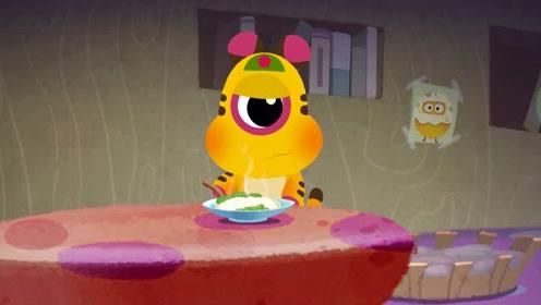 《奇奇怪怪和朋友们》第11集 奇奇和怪怪的同住日